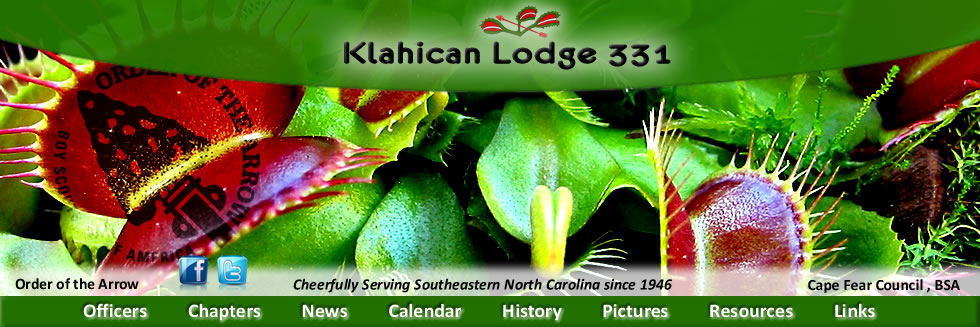 Klahican Lodge #331, Order of the Arrow